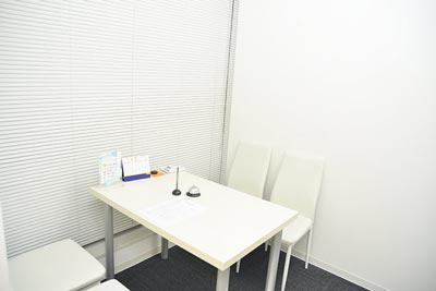ストラッシュ梅田店カウンセリングルーム